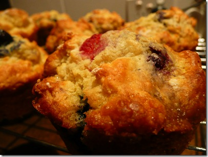 blueberry muffins 009