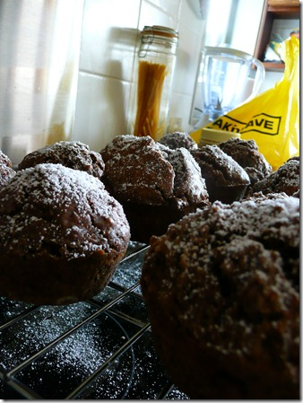 chocolate spice muffins 012