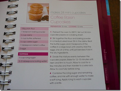 coffee raisin cupcakes 014