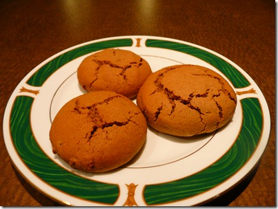 Ginger biscuits 016