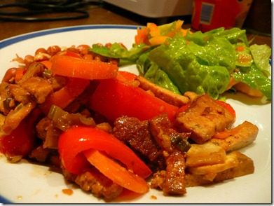 stir-fried tofu and vegetables 007